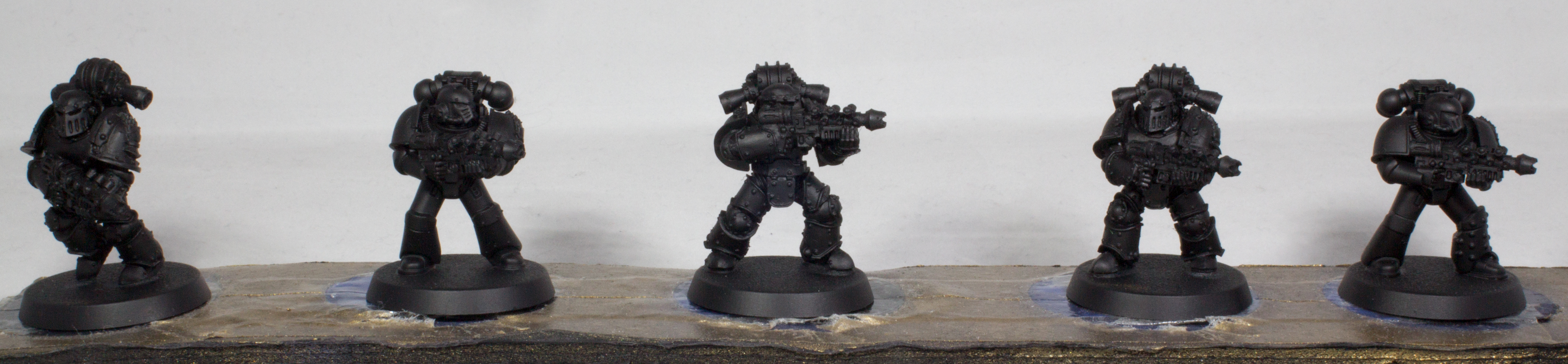 Iron Hands Black Undercoat