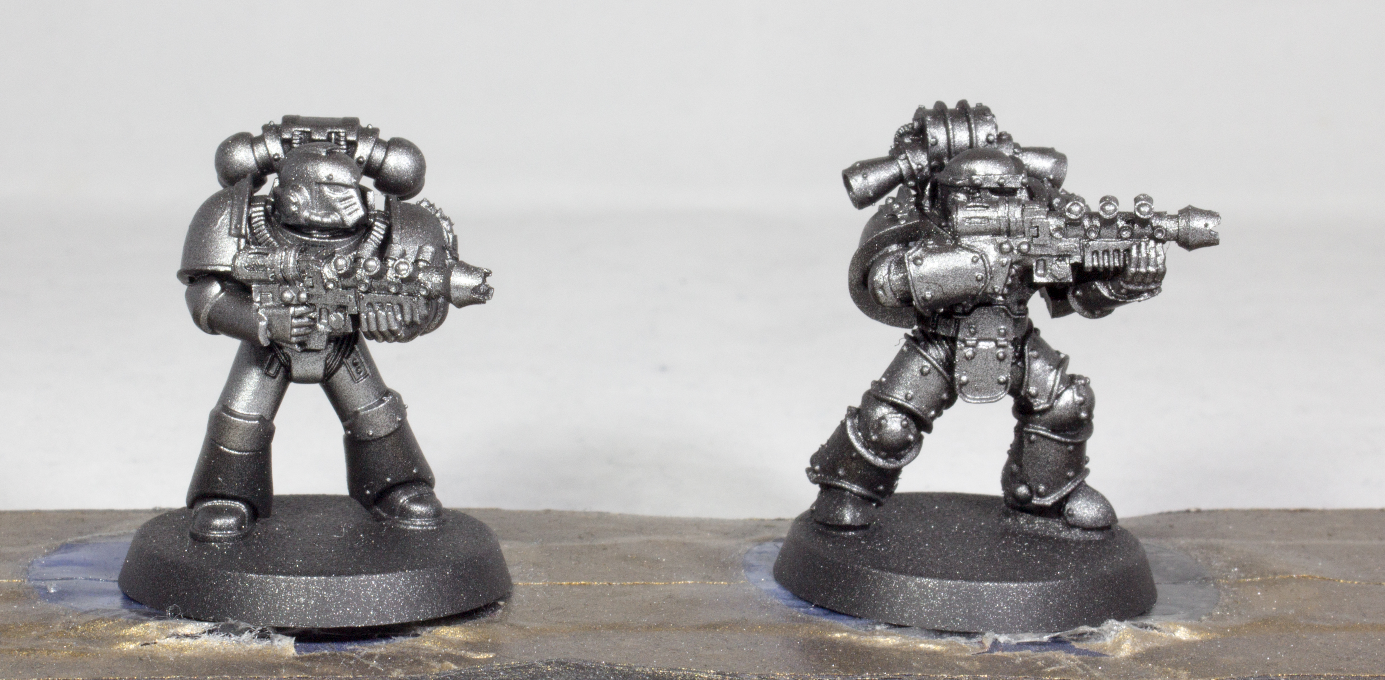 Silver Basecoat Gun Metal