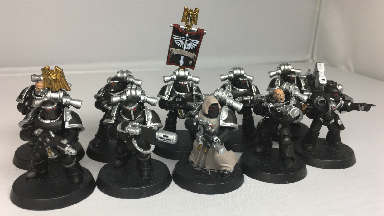 How to: Paint Fallen - The Brush and Boltgun