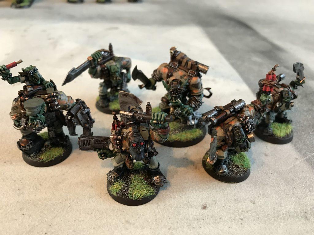 Ork-Kommandos