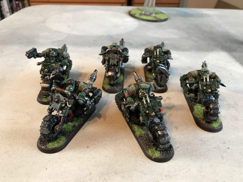Ork-Warbikes