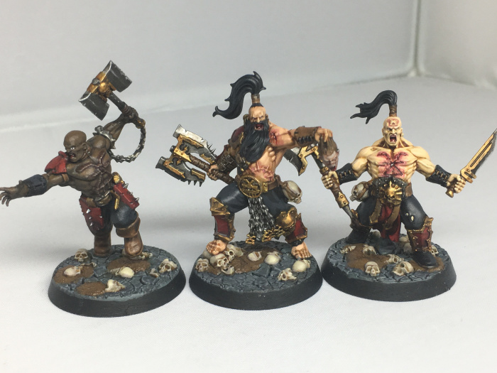How to: Paint Garrek's Reavers, Khorne Bloodbound - The