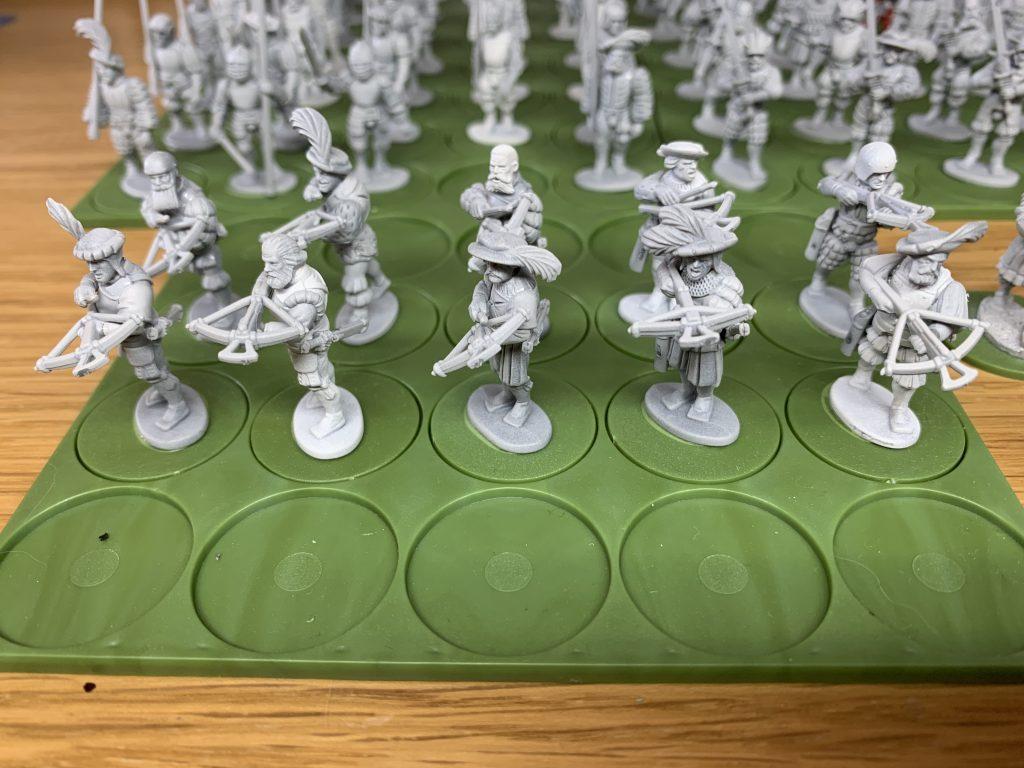 Landsknechts-Crossbowmen