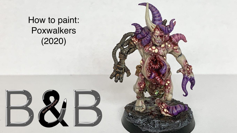 Painting-poxwalkers